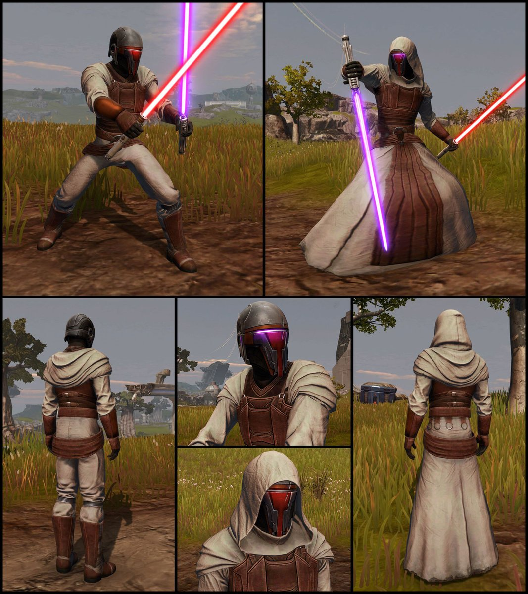 test Twitter Media - Check out one of the latest additions to the Cartel Market: the Jedi Knight Revan's Armor Set. This set comes with two different chest and leg pieces and a helmet that changes color depending on the equipped Color Crystal. https://t.co/QahWq7FChf