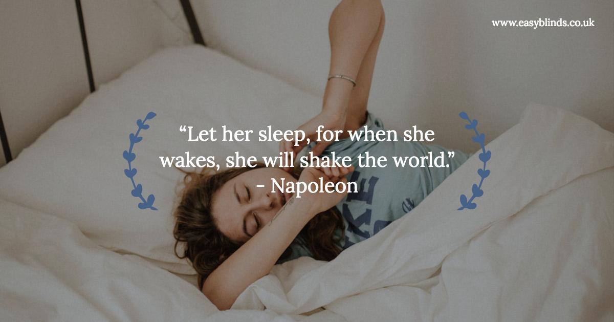 """""""Let her #sleep, for when she wakes, she will shake the world."""" - Napoleon   #quotes  #sleepquote  #wednesdaywisdom  #wednesdaythoughts  #wednesdaymotivation"""