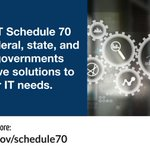 GSA's IT Schedule 70 can help your federal agency shorten procurement cycles, ensure compliance, and get the best value for over 7.5 million innovative IT products, services, and solutions from over 4,600 pre-vetted vendors.   ▶️ Learn more: https://t.co/No0nOkRDFP