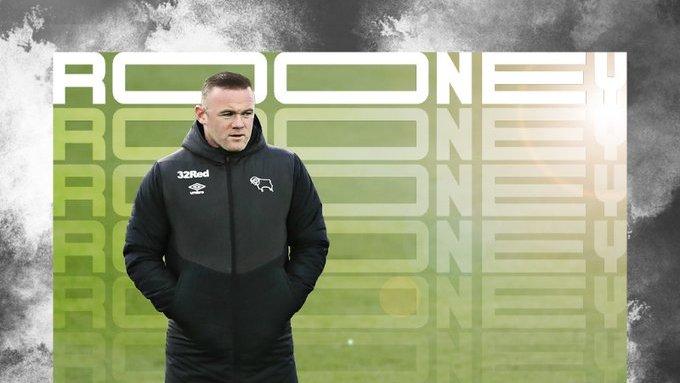 Notícias de Futebol⚽  Mesmo time que colocou o Frank Lampard no Chelsea, agora anuncia o Wayne Rooney como treinador até 2023.  O ex-jogador de 35 anos encerrou a carreira de jogador e assumi o lugar no comando do clube.  #championship #waynerooney #derbycountyfc #derbycounty