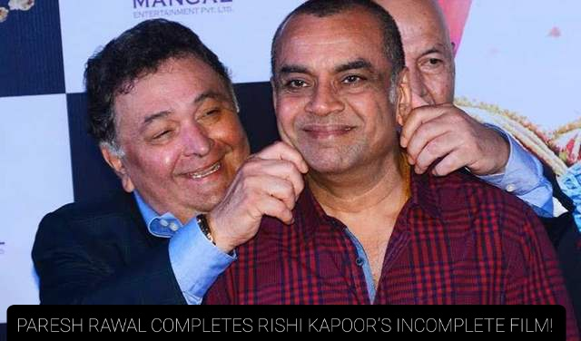 Late actor @chintskap last film #SharmajiNamkeen  is expected to release in theatres on his birthday. The actor died before completing the movie, @SirPareshRawal was hired to complete the rest of it as the same character in the film.  #RishiKapoor #PareshRawal #SharmajiNamkeen