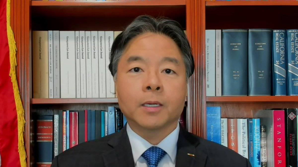 """WATCH: @RepTedLieu asks """"imagine if [the rioters] got their murderous hands on VP Pence and his family. What would have happened?"""" #MTPDaily   Lieu: """"We don't have to have an evidentiary investigation because this is all captured on video tape for the American people to see."""""""