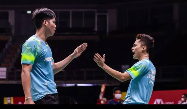 Hasil BWF Thailand Open 2021 : Jojo Terhenti, Ganda Putra Muda Indonesia Memberi Kejutan https://t.co/8kfazp73VS https://t.co/kyLDea3eSV