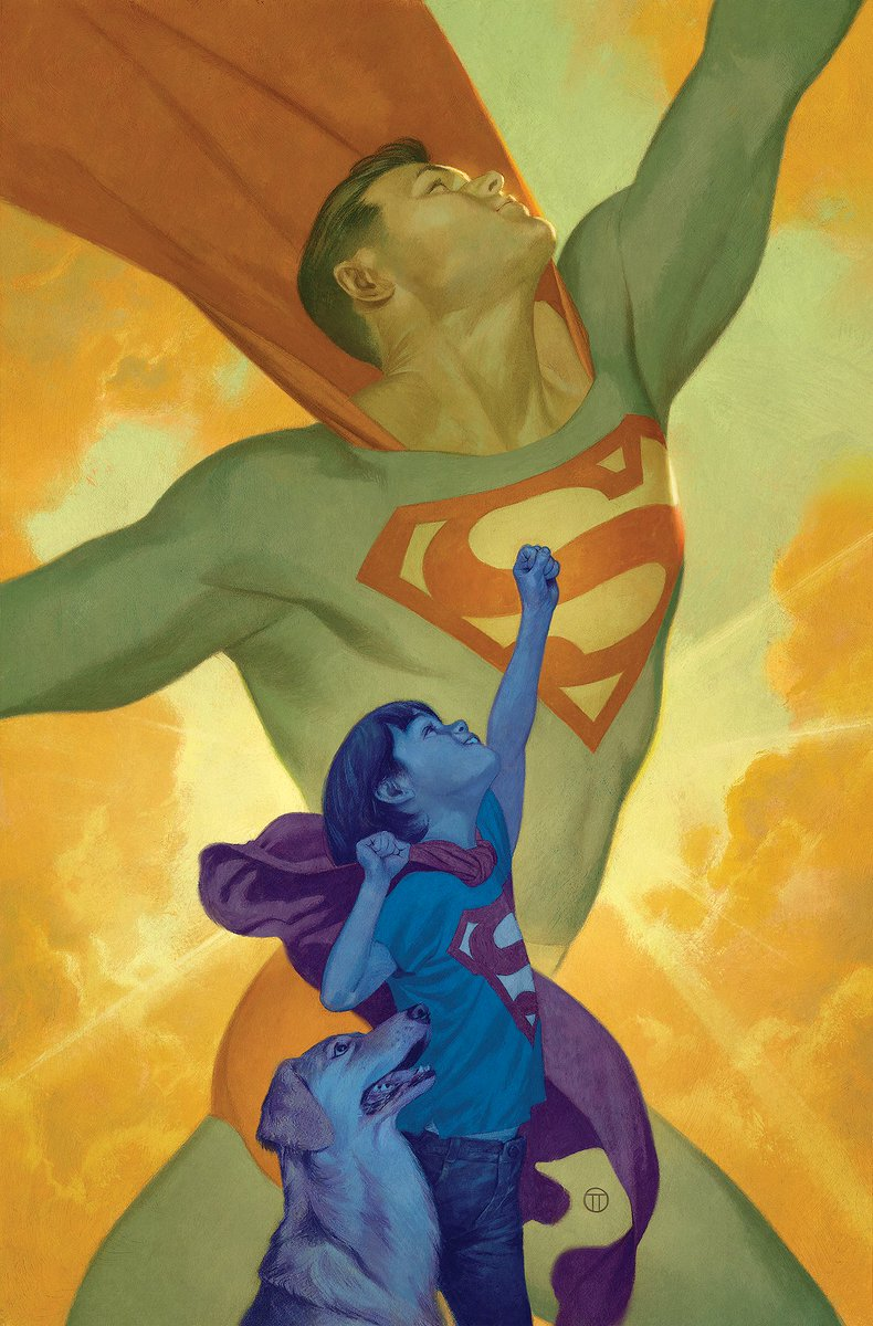 Variant cover for Action Comics #1030.