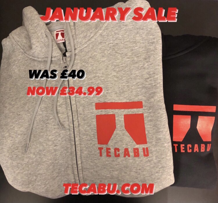 JANUARY SALES! Tecabu Zip Up Hoodies reduced from £40 to £34.99 during January!🏷🏷 • • #Tecabu #Brand #Fashion #Lifestyle #Clothing #LifestyleBrand #ClothingBrand #FashionBlogger #MensFashion #WomensFashion #Hoodie #Jumper #Apparel #WinterFashion #Winter