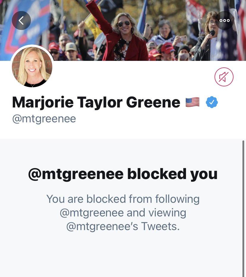 @nancylevine @mtgreenee @Twitter @delbius @jack WHITE PRIVILEGE @RepMTG #StopTeamQ #MarjorieManson