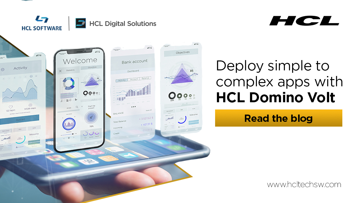 How to build beautiful apps in 30 days with #HCLDominoVolt. You don't need to be a developer! #HCLDomino #Dominoforever #100DaysOfCode #datascience #ai #codenewbie #nocode #lowcode #30DaysOfCode #womenintech #flutter #serverless  https://t.co/pXhXkgg4k0