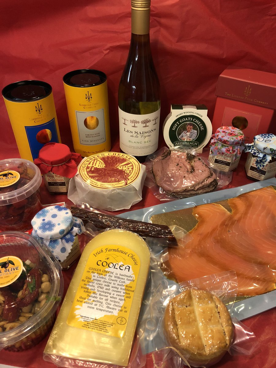 The Famous Tapas box from @EnglishMarket  delivered to your door city limits from €75 from €95  margo 087 6352415  @gubbeen @ArdsallaghL @CooleaCheese @chickfoods @bubblebrothers @koconnellfish @RealOliveCo @lismorefoodco @BigRedKitchenIE please rt to keep  the show on the road