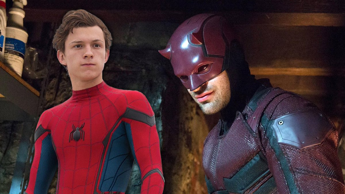 RUMOR: Charlie Cox, the star of Netflix's 'Daredevil' series, has reportedly been on set for the upcoming 'Spider-Man 3'.  (via @BrandonDavisBD)