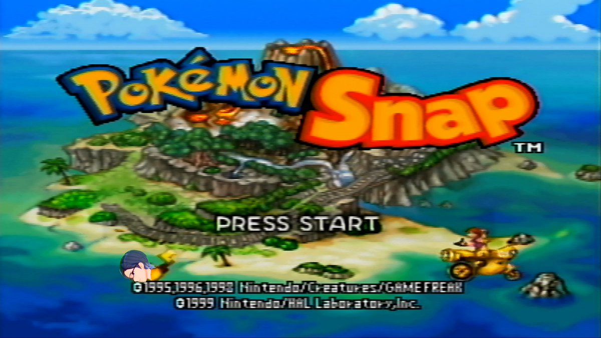 #PokemonSnap was definitely intended to be played on a 4K TV. All these polygons really render well 😂   This statement is unnecessary, but yes this is the Nintendo 64 game. I feel like someone will ask if I don't state this here.