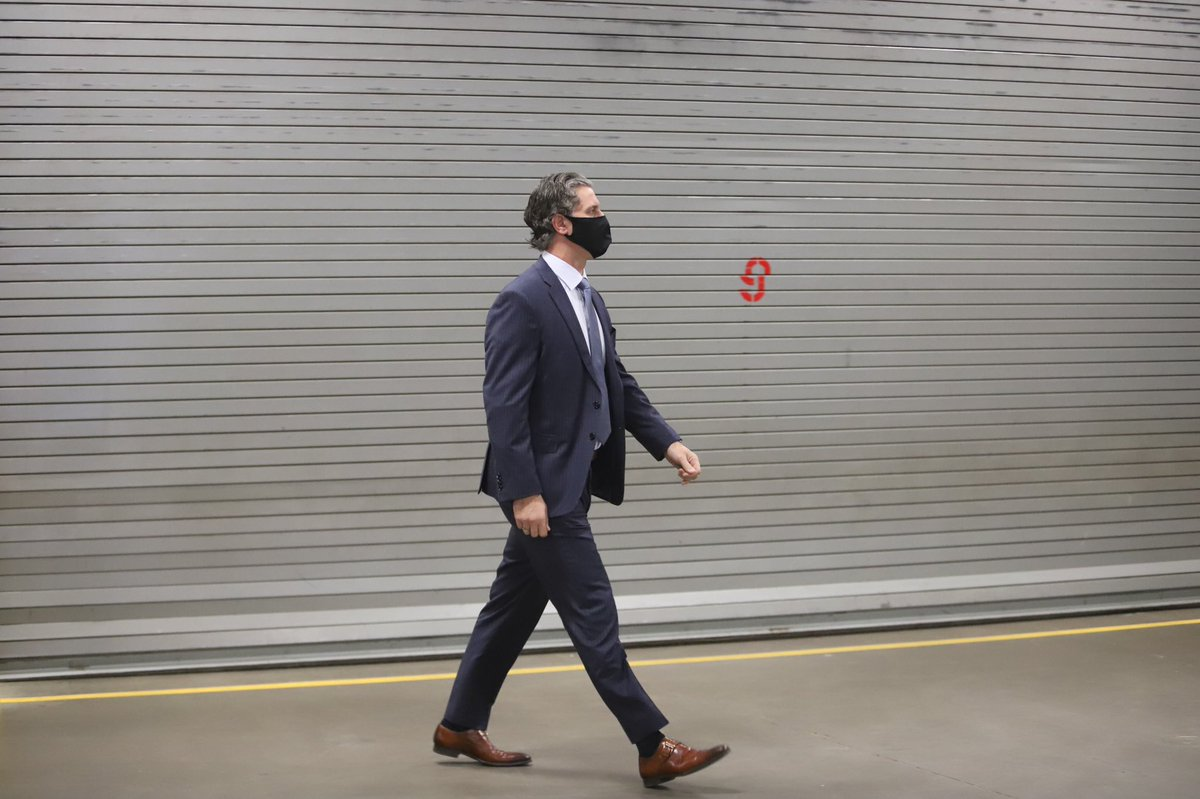 And now, Coach is here.   Let's do this 👊  #GoAvsGo