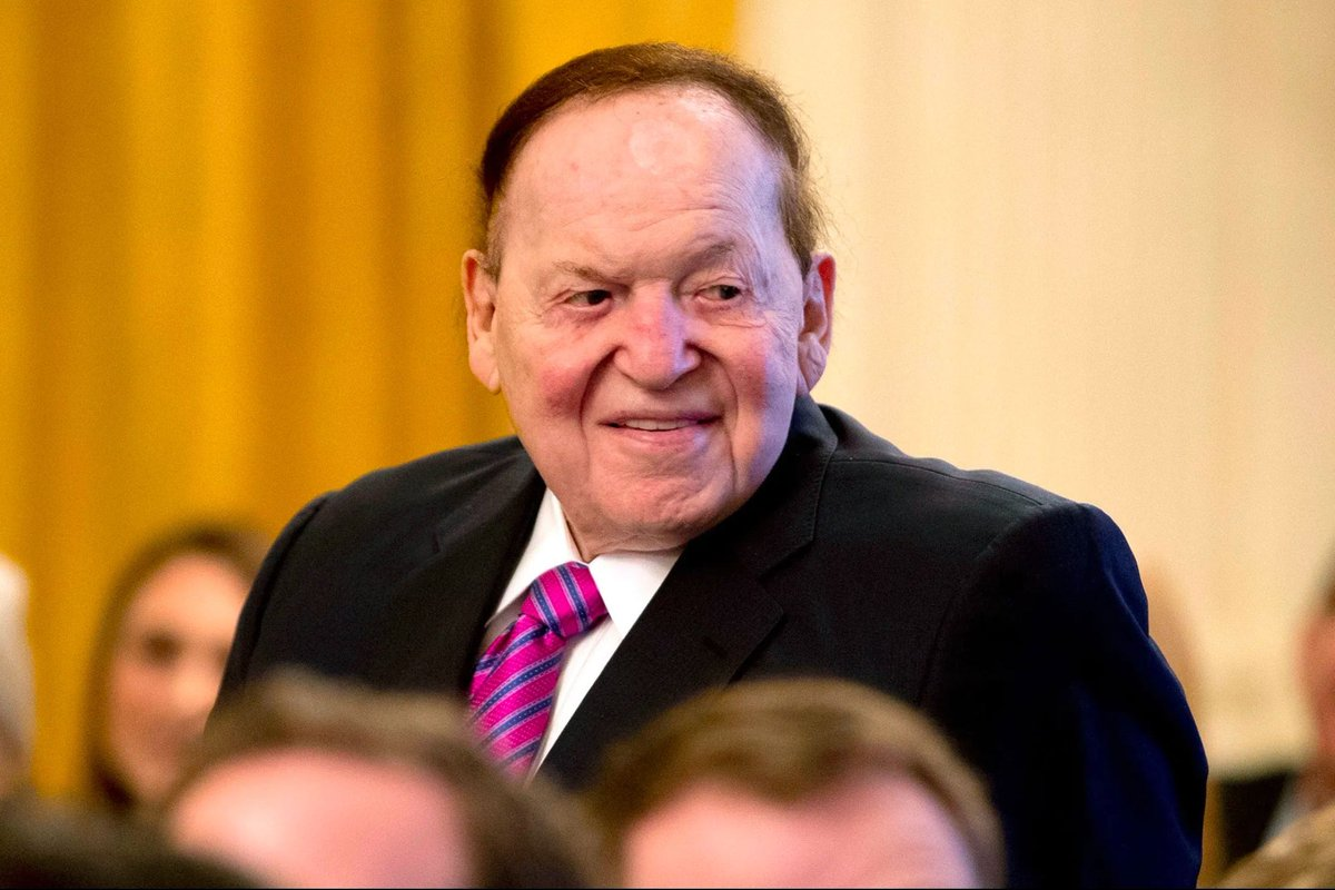 Sheldon Adelson, Renowned Casino Mogul and Major GOP Donor, Dies at 87 https://t.co/UJucU6Cwmb https://t.co/rDY5lC55Eq