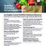 Image for the Tweet beginning: #LACounty has several resources to