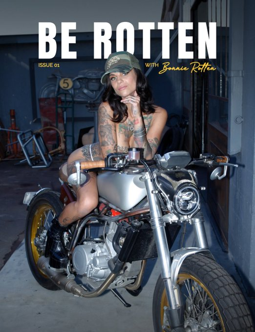 I'm proud to share with you BE ROTTEN, my digital magazine that will be launching on PATREON next week💥