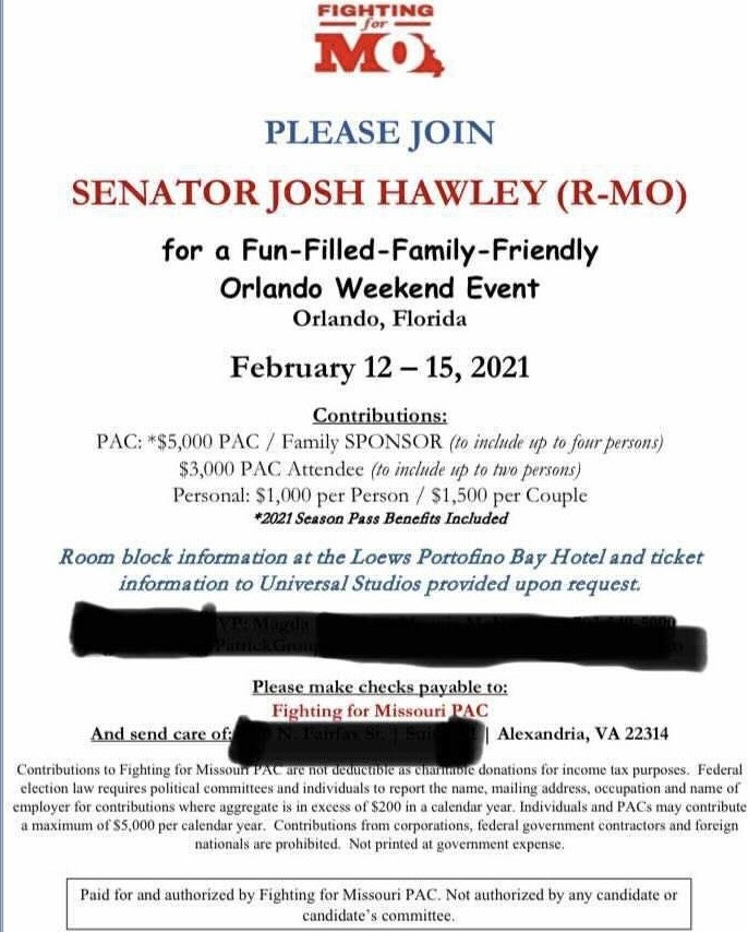Hey @Loews_Hotels.  Why are you hosting weekend event for traitor @HawleyMO next month in Orlando, Florida