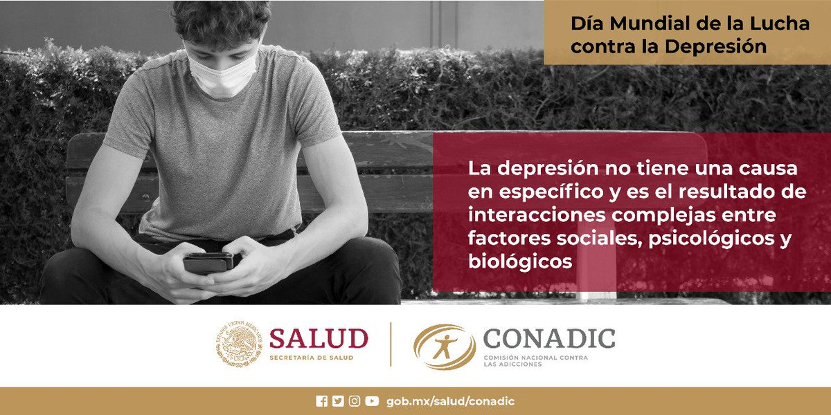 13 de Enero. Día Mundial Contra la Lucha de la Depresión.  Acepta la ayuda! Contactanos @capaguaymas  #depresion https://t.co/P3zYpus7FS