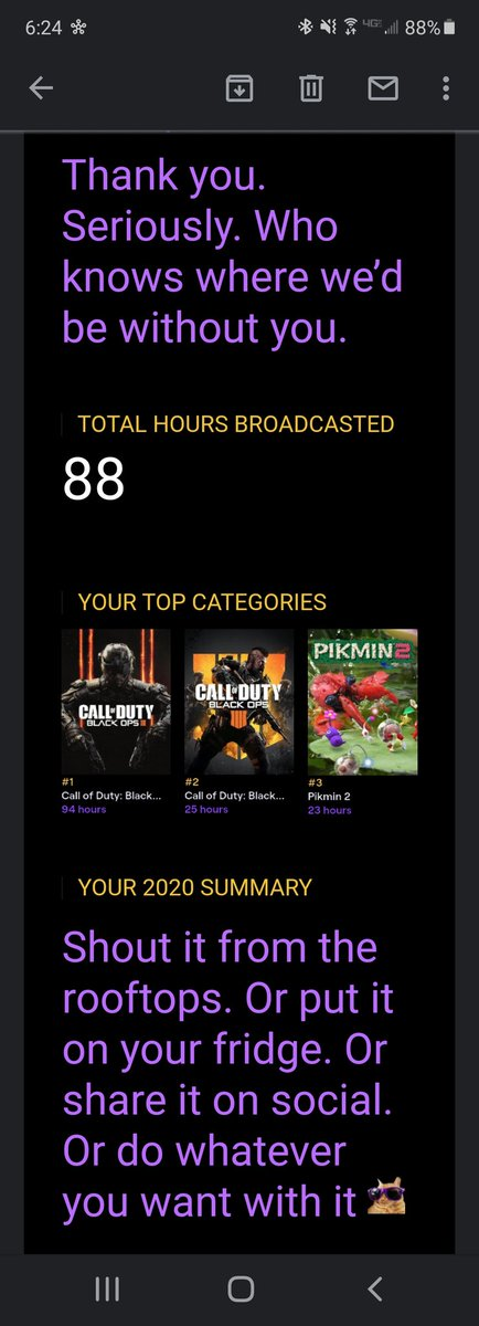 Wow what a wide variety of games I streamed last year. Definitely gonna go for more variety in 2021 #TwitchRecap #TwitchStreamers #TwitchAffilate #TwitchRecap2020