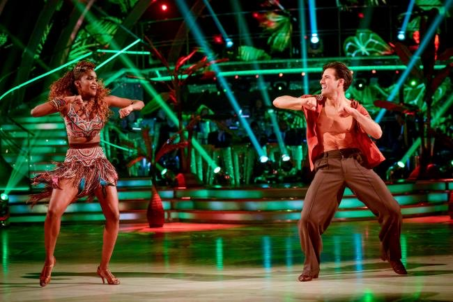 Its the way @OtiMabuse always brings flavour to the #Strictly dance floor with her song choices 🌶🔥