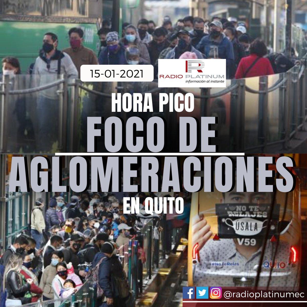 Desde las 06:00, el #Playón de #LaMarín, ubicado en el centro de #Quito, es un hervidero de #personas que confluyen de diferentes zonas del Distrito Metropolitano. Caminan apresuradas por los andenes hasta tomar el servicio de transporte #municipal y #público.