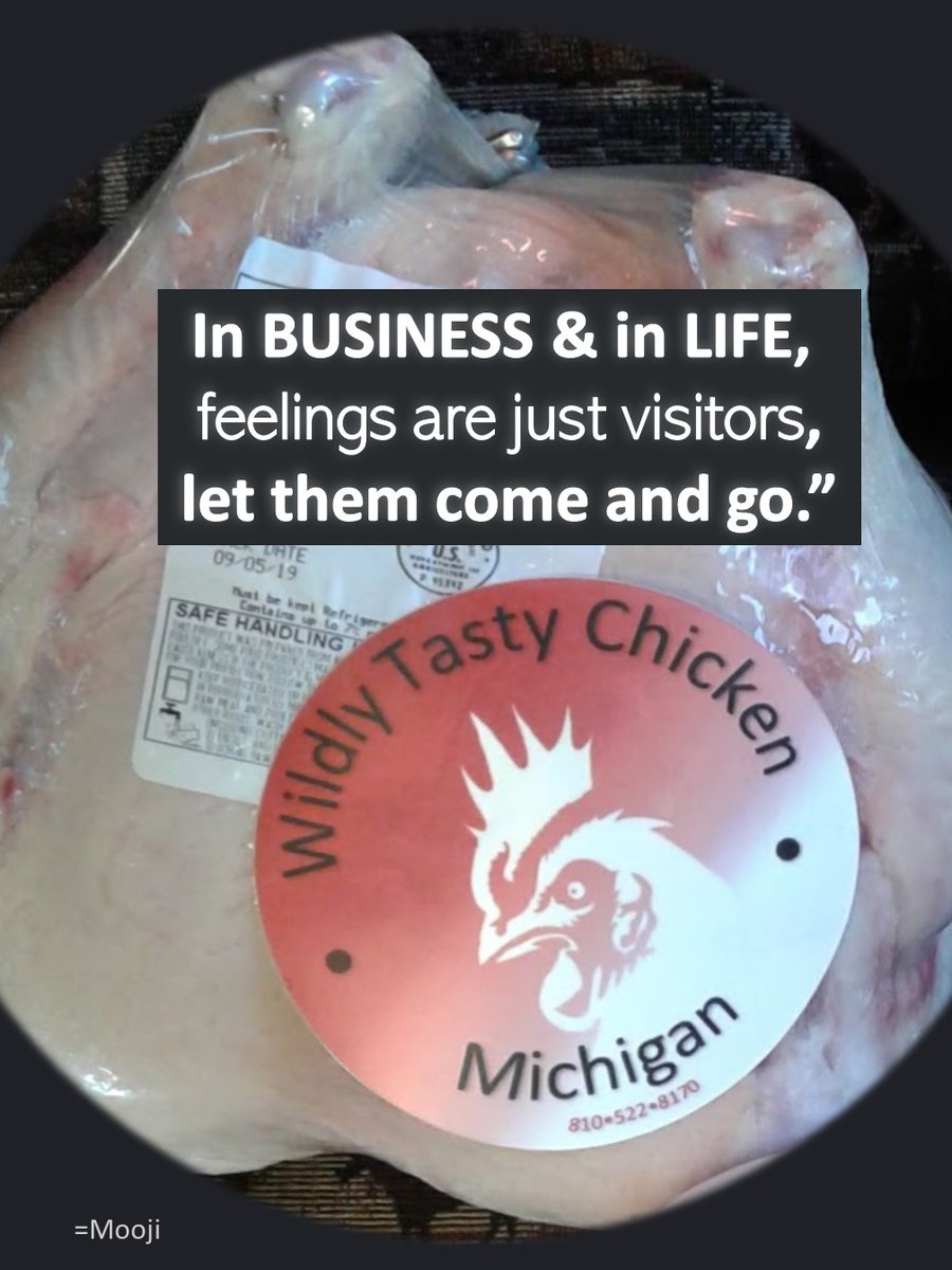 It's business, it's not personal. It's just a bad day, not a bad life. 🐥🖤😉these are all true...  #wildlytastychicken #chicken #womeninbusiness #health  #diet #motivationalquotes #inspirationalquotes #fitness