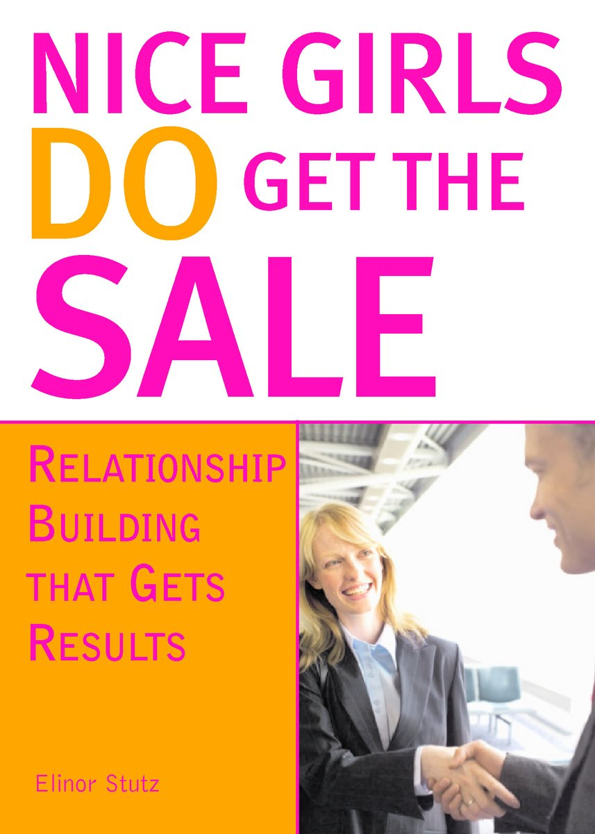 Thanking everyone you see on your way into and out of an appointment helps your sales effort; Read 'Nice Girls DO Get the Sale: Relationship Building That Gets Results.'  #Sales #business #Mindset