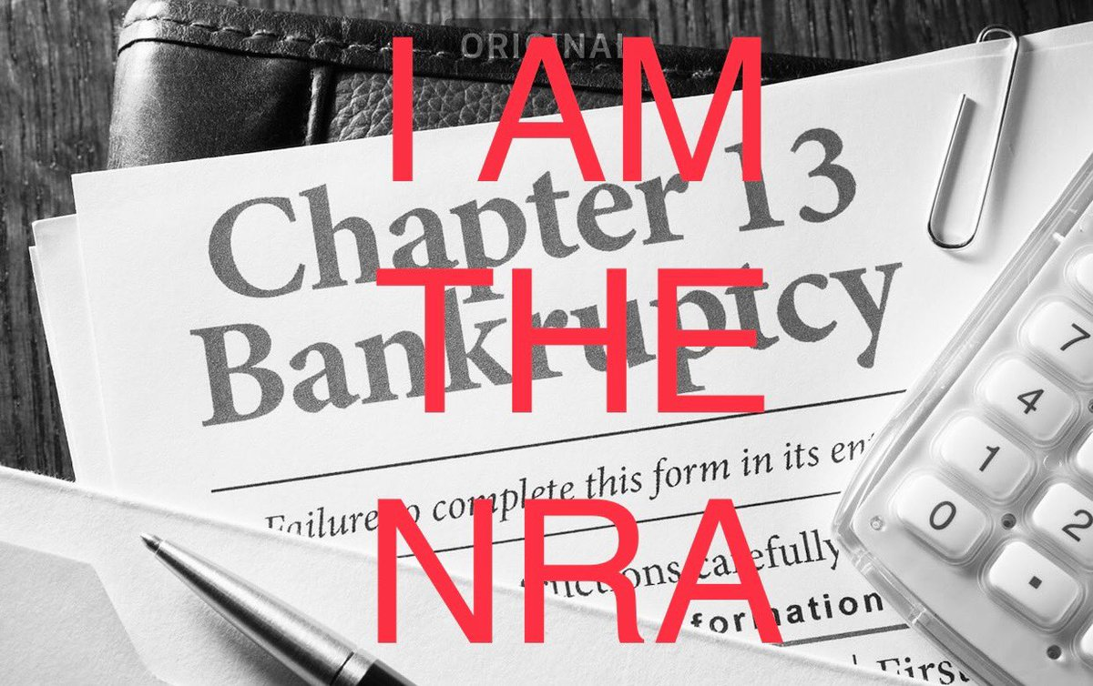 #NRABankruptcy