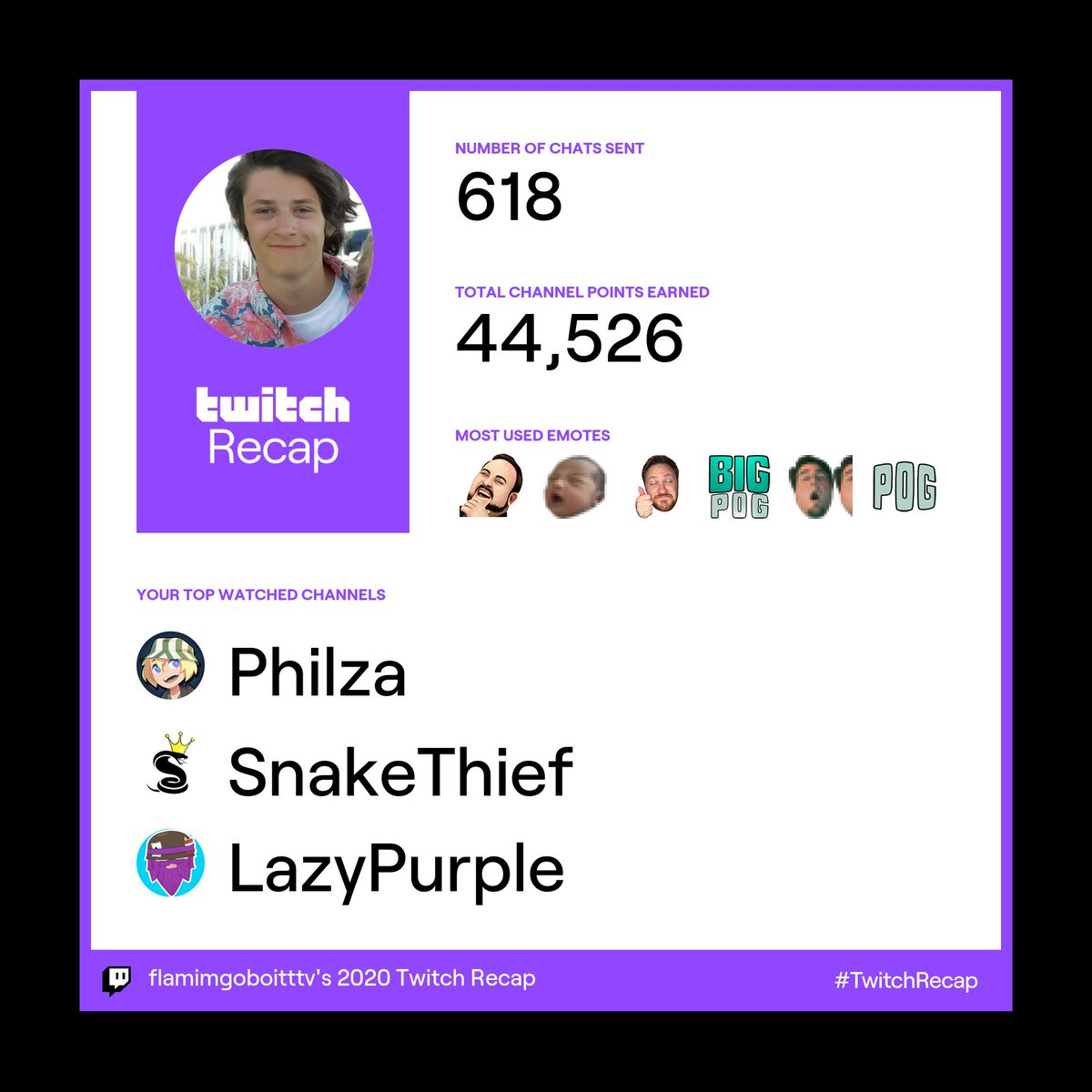 @Ph1LzA @lucasmeldrum123 @LazyandPurple big philza minecraft fan #TwitchRecap
