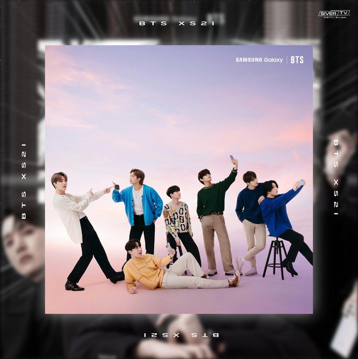 Pues al ser BTS la imagen oficial de Samsung han protagonizado una serie de fotografías épicas para promocionar la nueva serie S21 de Samsung💥  📸 Post apreciación  #SamsungGalaxyS21 #BTSXS21 #KPop #unpacked2021 #galaxy