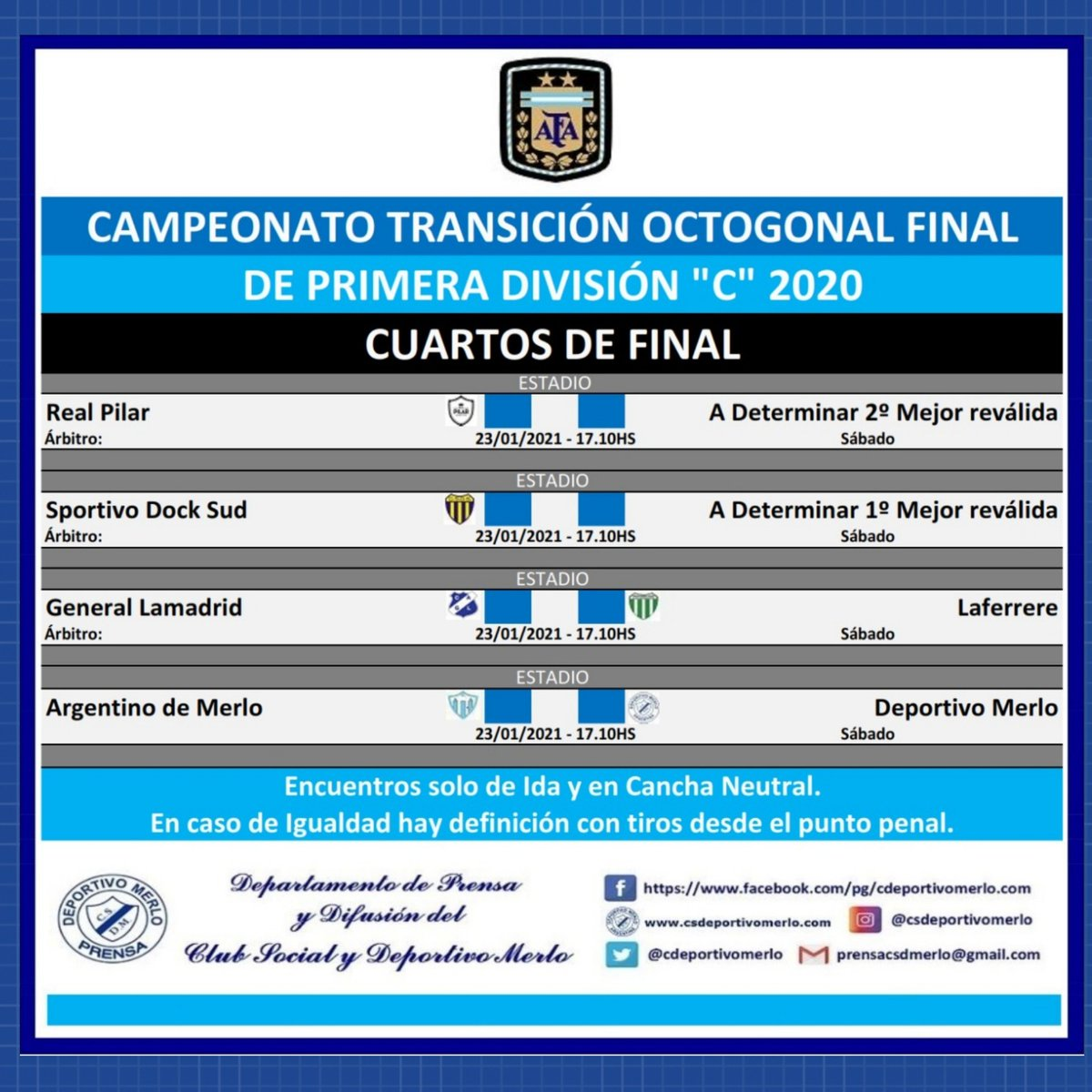 CS y Deportivo Merlo 🇫🇮 (Desde 🏠) on Twitter: