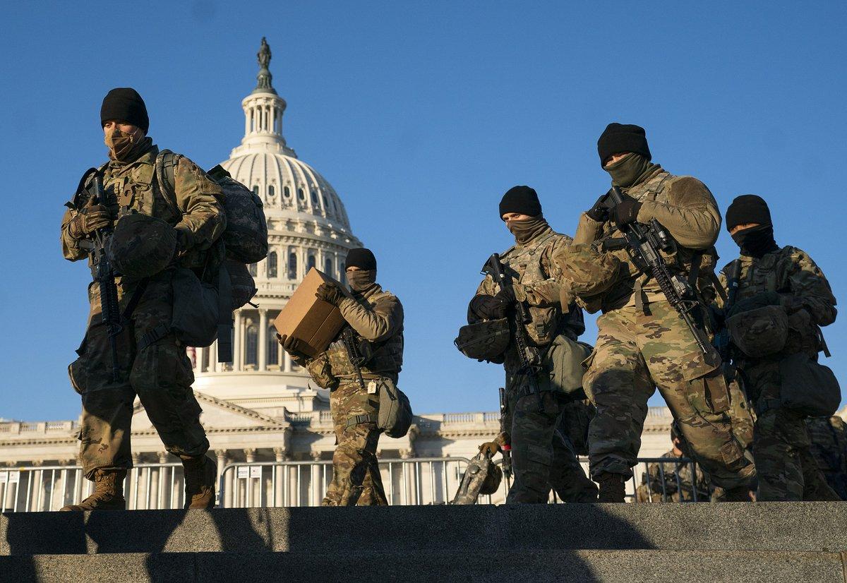 #BREAKING Pentagon authorizes up to 25,000 National Guard members for Joe Biden's inauguration. #Inauguration2021