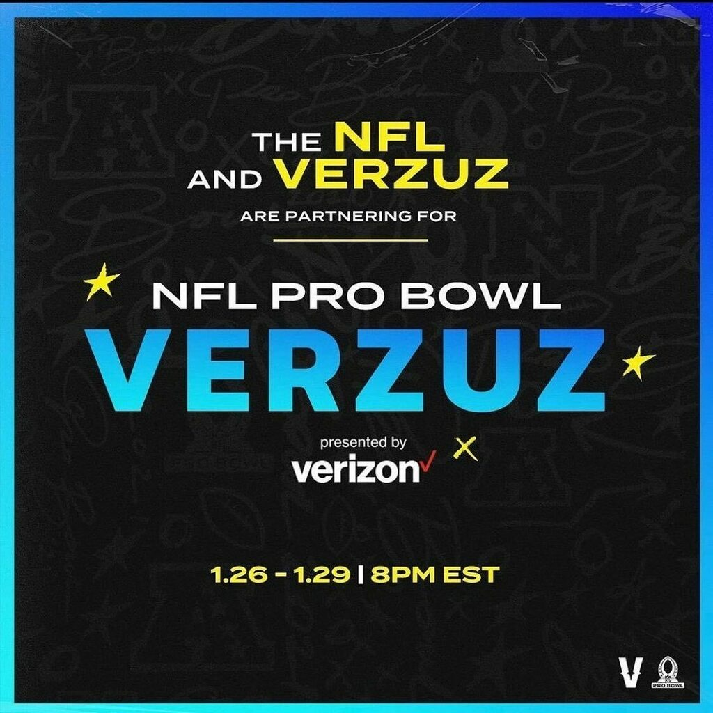 🚨 🚨🚨🚨🚨 Verzuz NFL. @ which players you want to see showcasing their highlights head to head. #verzuz verzuz #nfl #probowl #verzuzsports