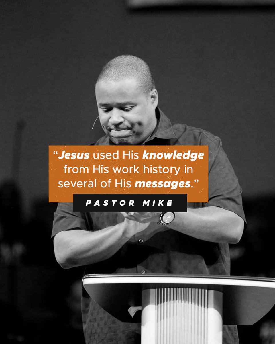 Jesus is our role model. He used his secular job as a carpenter to minister to others. Whatever your job may be, God can use you to serve and encourage others in a way that introduces them to Him!  #FallbrookChurch #HoustonTX #HoustonChurches #reachinghouston #buildingbridges