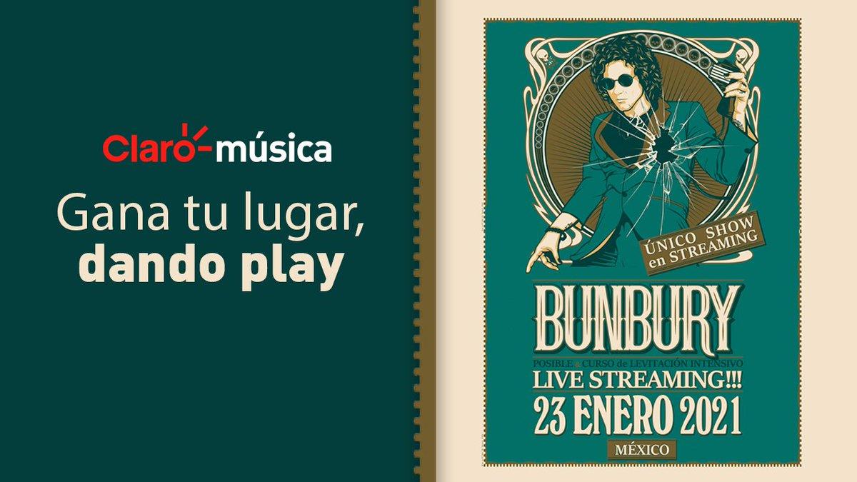 🎟¡Muy pronto podrás participar para ganar pases para el concierto único de @bunburyoficial! 🎁 Pendiente de nuestras publicaciones, mientras escúchalo aquí:  👀
