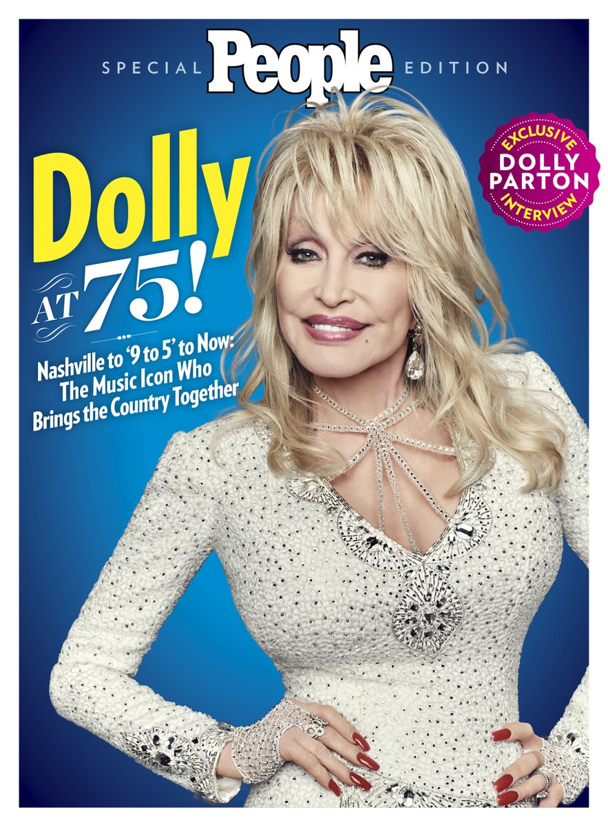 Ahead of the entertainment icon's 75th birthday on, PEOPLE is devoting an entire issue to all things Dolly. ❤️ Pick up your own copy, available now wherever magazines are sold.
