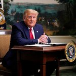 Image for the Tweet beginning: Дональд Трамп поручил федеральному правительству