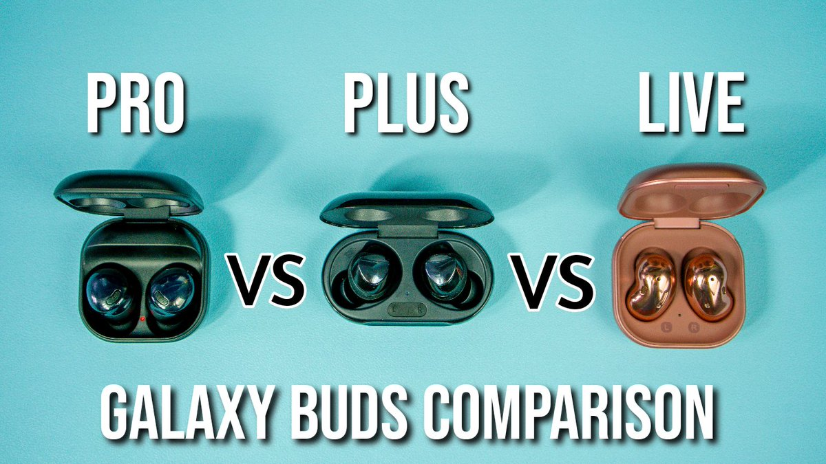 Saw the new #GalaxyBudsPro and  trying to decide which #GalaxyBuds are the best for You?  I took out a lot of guesswork and put them all to the test for You!  RTs are greatly appreciated  I hope this helps!  ↘️                     ⬇️                     ↙️