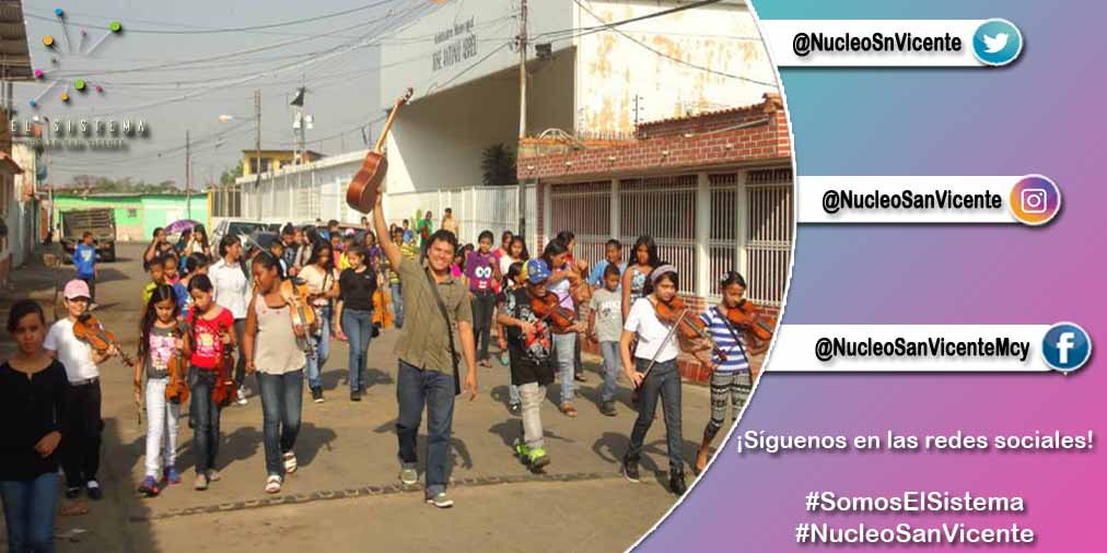 Entérate de nuestras actividades musicales siguiendo  nuestras redes sociales. #NucleoSanVicente #Maracay  #15Ene #15deEnero #MaestrosDeLaPatria #GraciasMaestro #FelizDiaDelMaestro #SomosElSistema #MusicaParaTodos  Docentes en su día.