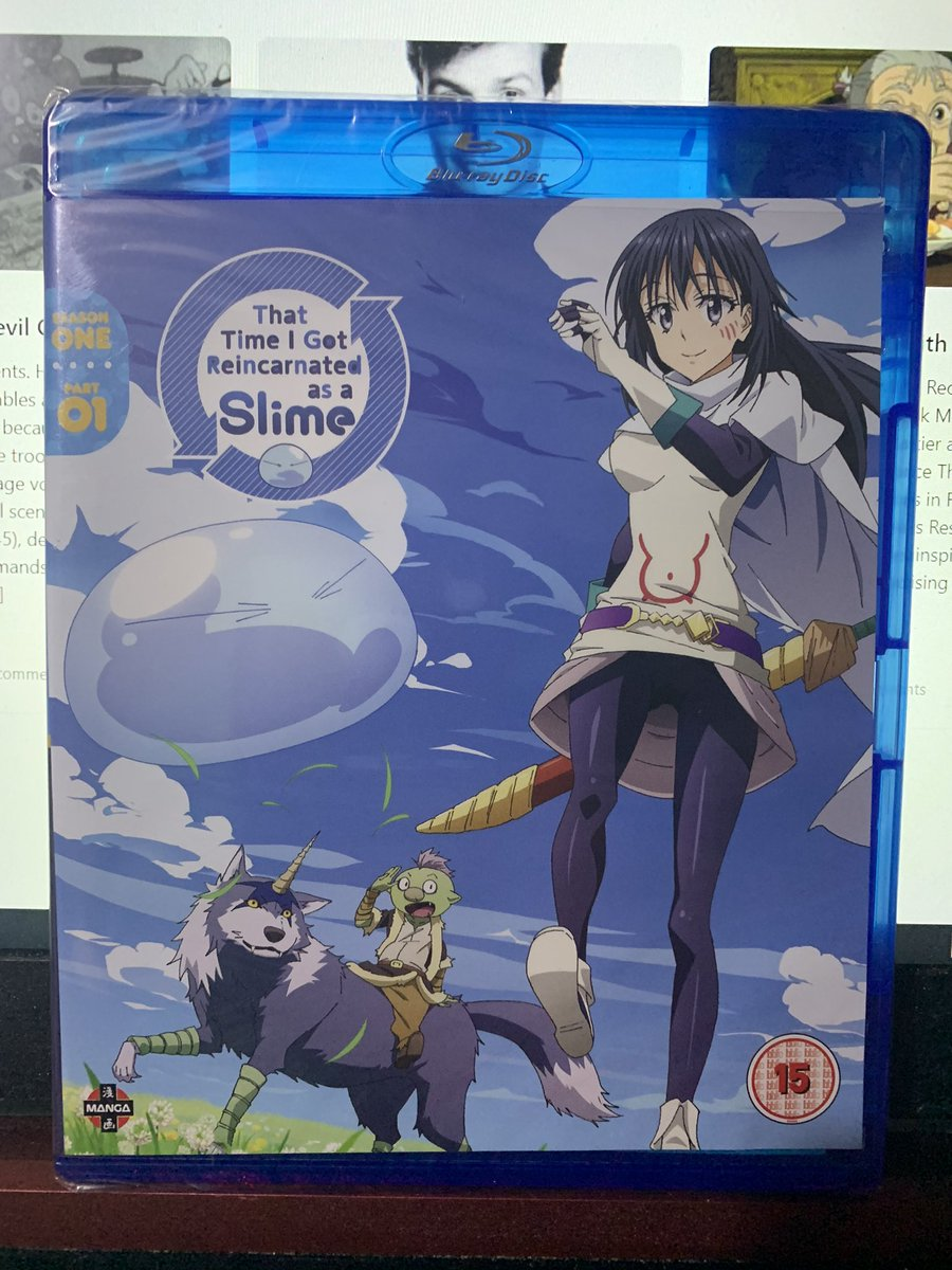 From @zavvi's anime sale, I got @MangaUK's That Time I Got Reincarnated as a Slime Part One. Manga didn't bother with the CE and I refused to settle for a standard edition part 2, so Funimation's Part 2 is on the way. https://t.co/jcak6Fq0ci