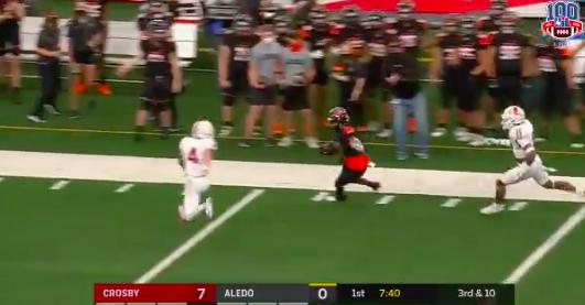 Watch: #Alabama signee JoJo Earle hauls in 74-yard TD in state championship game