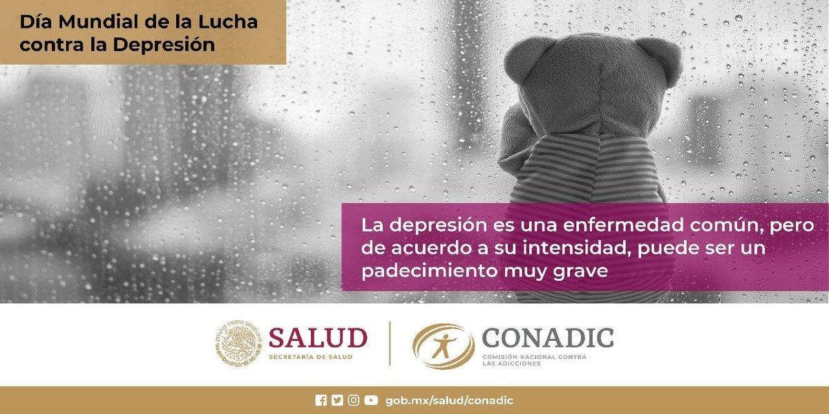 Dia Mundial de la Lucha contra la Depresión.  #ConadicTeEscuha #CuidaTuSaludMental   @LineaDe_LaVida 800 911 2000 ☎️ 911 Línea De Vida Coahuila #JuntosPorLaPaz #HeroesConCAPAPiedrasNegras #CAPAtipsPN #SaludMental @Jurisdiccion1PN  @D_Videgaray @CONADICmx @ceca_coahuila @CapasCoah https://t.co/LA0k5Pdi9J