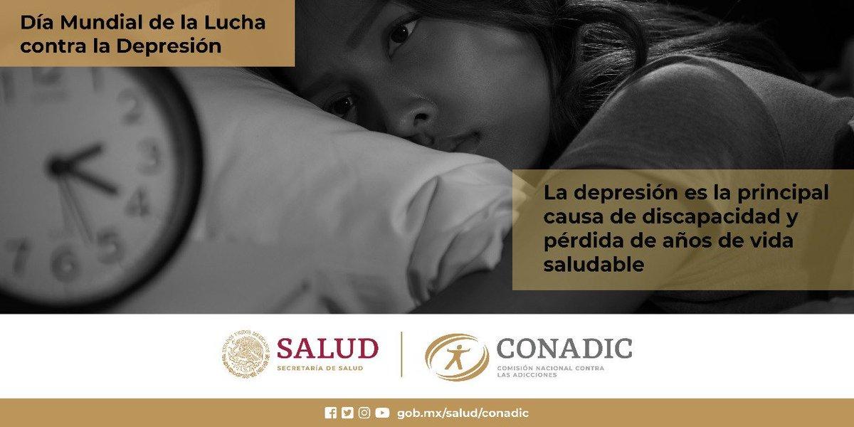Dia Mundial de la Lucha contra la Depresión  #ConadicTeEscuha #CuidaTuSaludMental   @LineaDe_LaVida 800 911 2000 ☎️ 911 Línea De Vida Coahuila #JuntosPorLaPaz #HeroesConCAPAPiedrasNegras #CAPAtipsPN #SaludMental @Jurisdiccion1PN  @D_Videgaray  @CONADICmx @ceca_coahuila @CapasCoah https://t.co/onmdWgsY3T