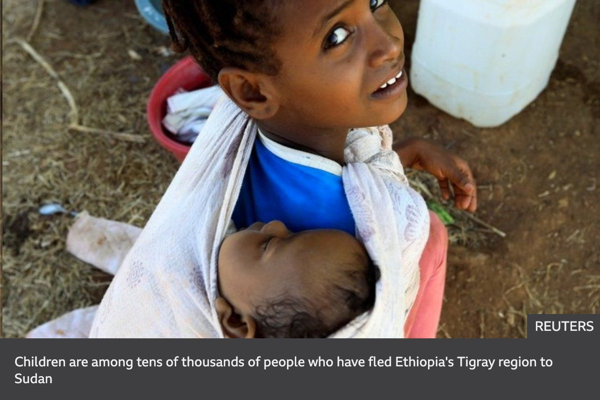 Millions of children in Tigray are starving but @AbiyAhmedAli continues to block lifesaving food & medical aid. The international community must intervene to stop #TigrayGenocide #BidenTakeAction  @PattyMurray @ChrisMurphyCT @SenatorLeahy .