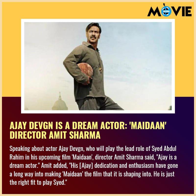 @ajaydevgn #Maidaan #Actor #AmitSharma #Movie #Bollywood #Moviekeeda
