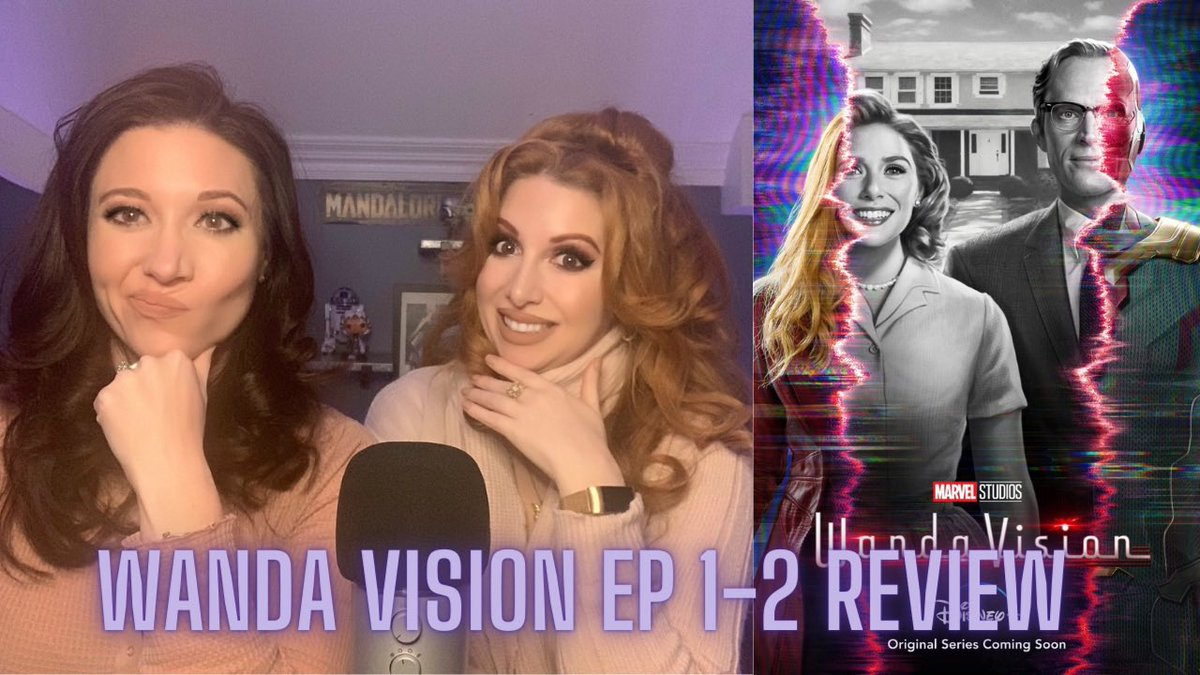 WandaVision Ep1-2 Review! #WandaVision  via @YouTube