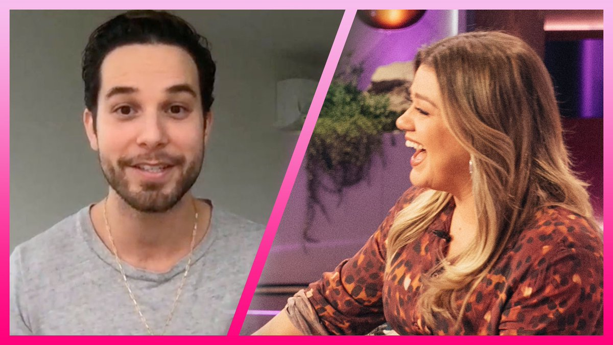 "Kelly Clarkson & @SkylarAstin Review His ""A Moment Like This"" Cover On @ZoeysPlaylist   WATCH:   #KellyClarksonShow"