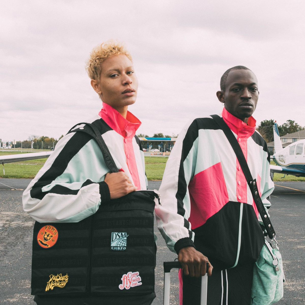 DSM for @PUMA Luggage collection now available only on the Greenhouse app.