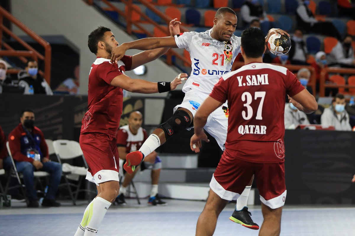 #Qatar beat Angolan national team 30-25 in their opening match at the 2021 Handball World Cup in Alexandria in #Egypt2021 on Friday 👏 https://t.co/yad5lEIeey