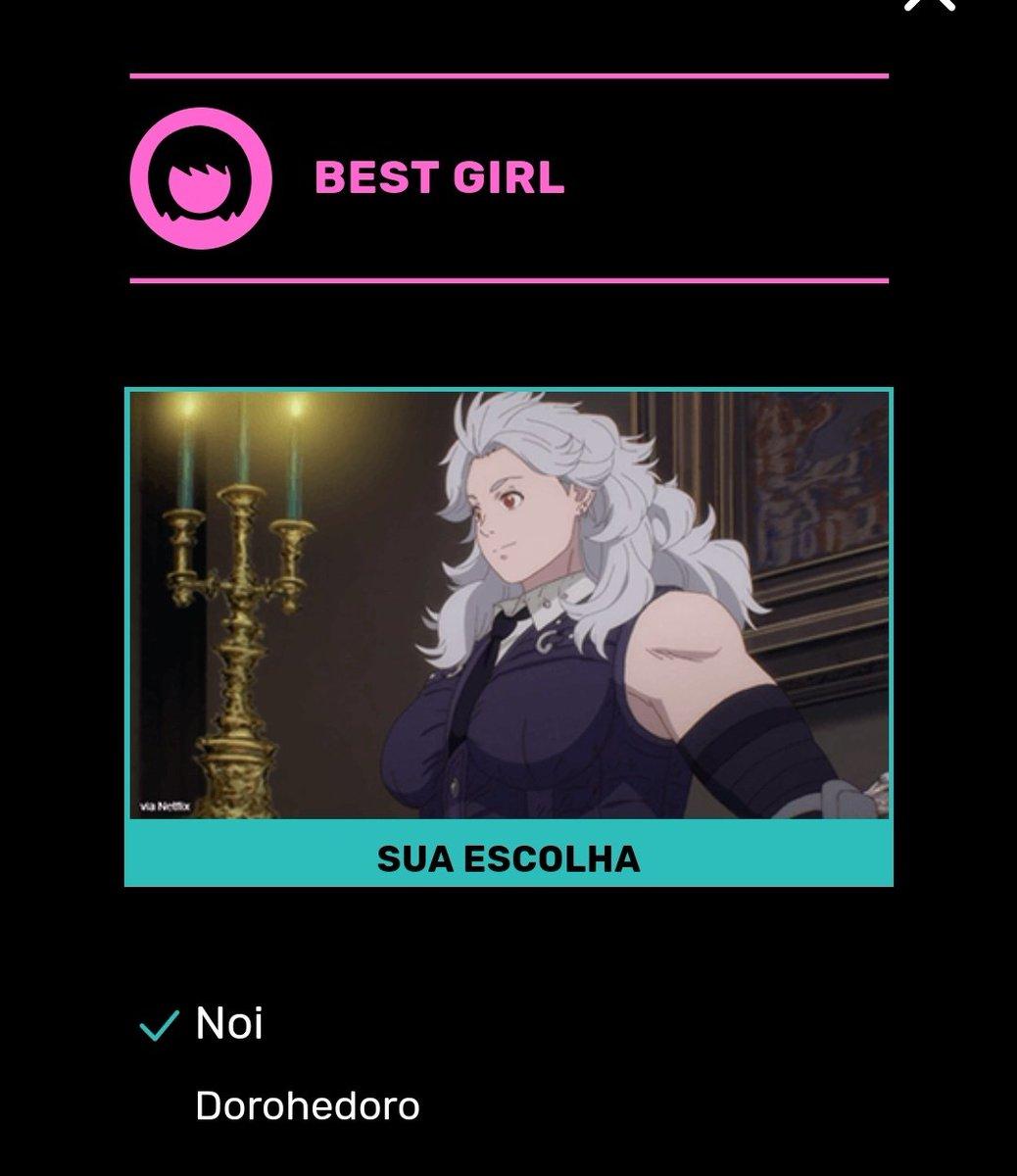 MINHA PRINCESA TEM QUE GANHAR COMO BEST GIRL SIM #AnimeAwards