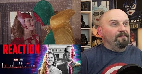 Wow! Sorry this is so late. Finally, my reaction to the tidal  wave of #WandaVision TV spots & clips. Looks like a lot of fun. Love all the TV genres. Glad to see them back together. What is happening to them? Streaming now! #DisneyPlus #Marvel #Disney