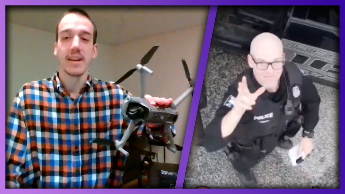 Pennsylvania Man Uses Drone To Deliver Donuts To First Responders  WATCH:   #KellyClarksonShow